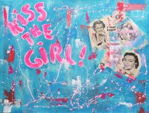 Kiss the girl - 65x81 - vendu