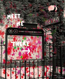 Saint Germain -  65x54 - Impression photo sur toile
